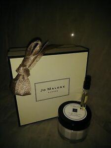 NIB Jo Malone LIME BASIL & MANDARIN BODY CREAM 1.7OZ/50ML + 1 PERFUME SAMPLE