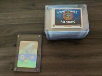 1990 Series 1 Set Looney Tunes All Stars Upper Deck 9 Card + Bugs Bunny Hologram