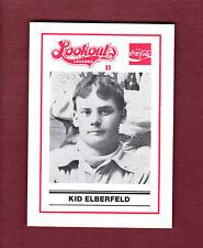 KID ELBERFELD~1989 Chattanooga Lookouts LEGENDS II Regional History Museum card
