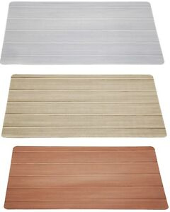 PVC Double Sided Large Placemats In Gold Silver Bronze With Cool Streak Design