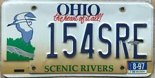 License Plate - Ohio Scenic Rivers Nature Environment Graphic