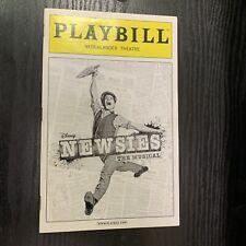 NEWSIES Feb 2013 Broadway Playbill! COREY COTT Tommy Bracco KARA LINDSAY