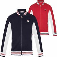 Fila Settanta Zip Front Track Top - Navy, Red, Blue, White - XS, S, M, L, XL
