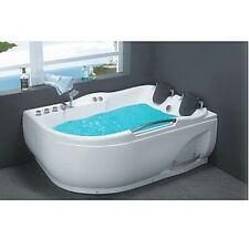 Two Person JETTED BATHTUB ,Whirlpool & Air Bubble & Massage,Heater.USA Warranty.