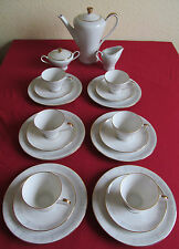 Kaffeeservice Edelstein  für 6 Personen  ca 35 - 40 Jahre alt Kaffee Service