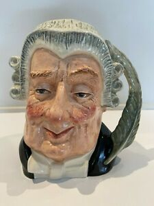 Royal Doulton The Lawyer Character Jug D6498 Large