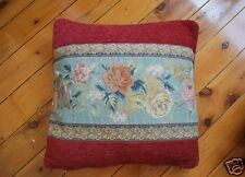 French Rose Baroque Style Jacquard Cushion Cover 45cm A