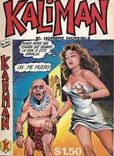 Kaliman El Hombre Increible #504 - Julio 25, 1975 - Mexico