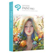 CLIP STUDIO PAINT PRO - NEW 2018 BRANDING - MAC/WINDOWS - NEW RETAIL BOX