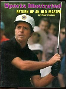 SI: Sports Illustrated April 22, 1974 Return of an Old Master Gary Player Golf G