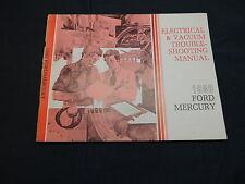 FORD Mercury 1980 wiring diagram Electrical Manual schemi manuale