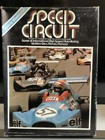 Vintage Game 1977 Speed Circuit Game Avalon Hill's Racing Game Rare