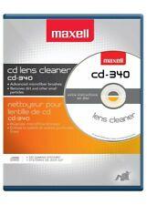 Maxell CD Lens Cleaner NEW  CD-340 190048 SEALED!!!