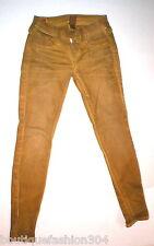 New Womens True Religion Brand Jeans Casey Leggings 26 Coated Skinny Pant Yellow