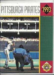 1993 Pittsburgh Pirates Yearbook (revised)  near mint condition (see scan)