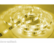 Striscia strip led smd 5050 300 led 5mt luce calda IP 66 senza alimentatore