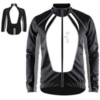 Winter Cycling Jacket Full Sleeves Windproof Cycle Thermal Cycle Jacket S to XXL