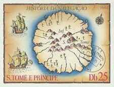 Timbre St Thomas et Prince BF630 o réf. Stampworld lot 9568 - cote : 12 €