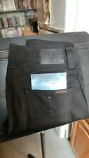 Nudie Jeans Slim Jim Dry Black Denim Jeans 30x32 Made in Italy New with Tags