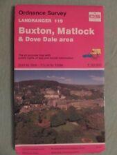 OS Map BUXTON & MATLOCK Landranger sheet 119