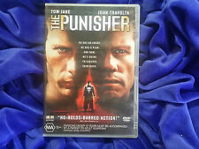 THE PUNISHER - JOHN TRAVOLTA - REGION 4 PAL - MOVIE DVD  - Marvel Comics!