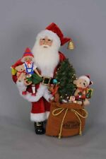 "New in Box Karen Didion Originals Toys Galore Lighted Santa - 16.5""T"