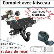 ATTELAGE remorque Jeep Wrangler JK dès 2007 faisceau 13br relais radars de recul