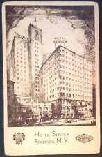 Postcard  Hotel Seneca, Rochester, N.Y.