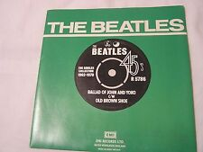 The Beatles 45 & Picture Sleeve from single collection-THE BALLAD OF JOHN AND Y