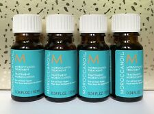 Lot (4) Moroccanoil Moroccan Oil Hair Treatment Oil 0.34 oz Each Deluxe Sample