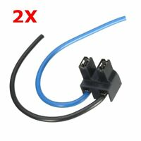 2x H7 2 Pin Headlight Replacement Repair Bulb Holder Connector Plug Wire Socket