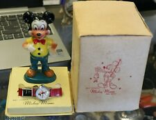 Vintage Ingersol Mickey Mouse Watch with Display Mickey Figure