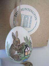 The Huntington Bunny Egg Painted Ornament w/ Box