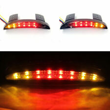 Motorcycle LED Stop Tail Brake Running Light w/ Turn signal Lamp for Harley 12V