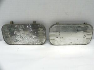 VINTAGE GM DEALERSHIP 40'S VISOR MIRROR ACCESSORY GIVE AWAY. BOTH INCLUDED