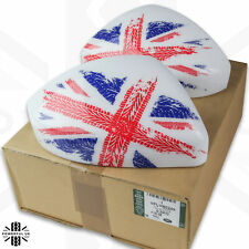 Jaguar F-Pace mirror cap top Union Jack genuine upgrade custom flag print cover