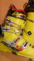 FISCHER Size22.5 Soma-Tec RC4 World Cup PRO-98 110flex Ski Boots UNISEX