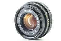 【EXC4】 Minolta M Rokkor 40mm f/2 for Leica Leitz M Mount CL CLE from Japan #079