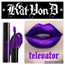 Kat Von D Everlasting Glimmer Veil Lipstick 'Televator' Purple NIB