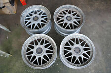 "JDM 17"" WEDS Mesh rims wheels Staggered 180sx 240sx is200 lexus ssr work vs bbs"