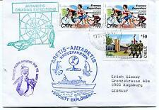 Society Explorer Territorio Chileno Antartico Base TTE R. Marsh Polar Cover