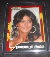 PopCardz Emmanuelle Chriqui Trading Card (The Mentalist,Cleaners, Shut Eye)