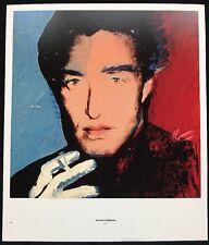 Halston - Fashion & Diana von Furstenberg, Andy Warhol 1975 Poster 29x24.5cm,106