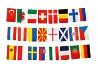 Fahnenkette Flaggenkette Girlande Spanien Andalusien Fahnen Flaggen 15x22cm