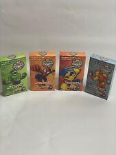 Upper Deck Super Hero Squad TCG 4 Intro Packs Spider~man,Wolverine,Hulk,Iron Man