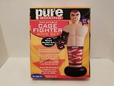 Pure Boxing Inflatable Cage Fighter Mma Set Punching Bag, Ages 6+, 8902Bpg