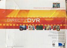 Direct TV RCA DVR DWD490RE TiVo 70 Hour Recording In Original Box Black