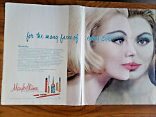 1961 Maybelline Ad  For the Many Faces of Every Eve