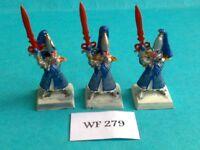 Warhammer - High Elves - Swordmasters x3 - Metal WF279