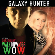 Galaxy Hunter - Walk On Water/Spacesynth Odyssey 2 CD's inside
